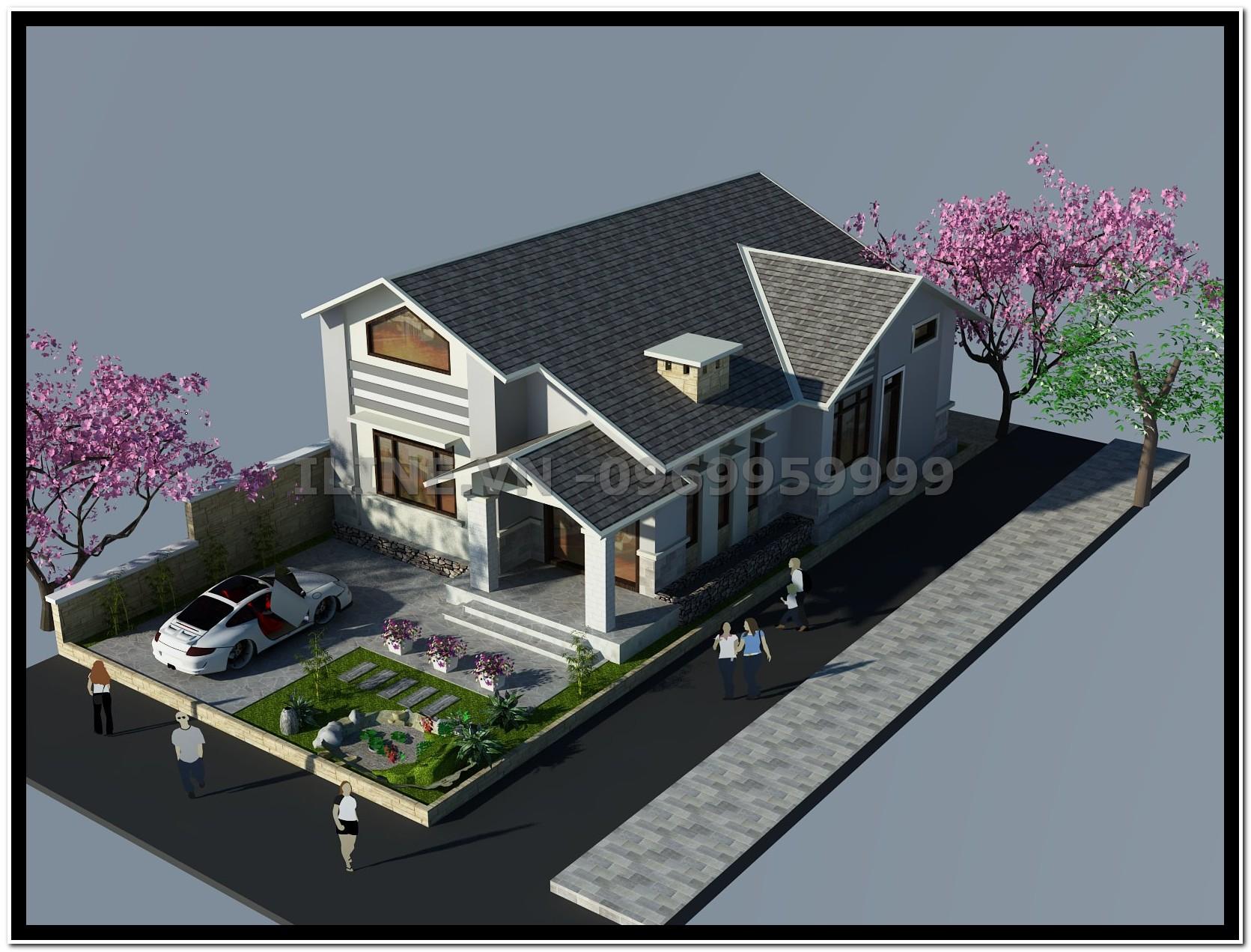 Biệt thự Mini - Chú Mạnh - Hải Phòng - 2011