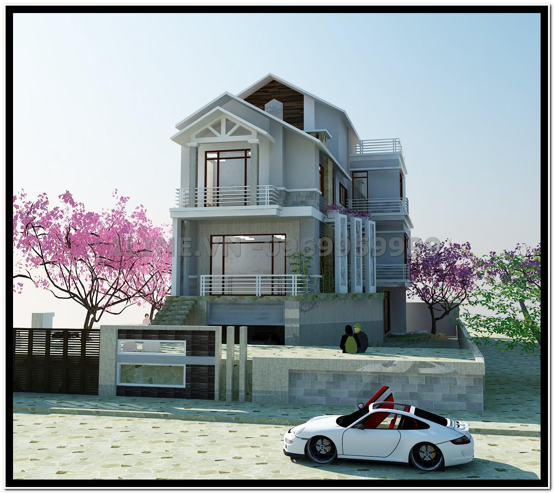 Biệt thự Phố - anh Toản - Cẩm Phả - 2012