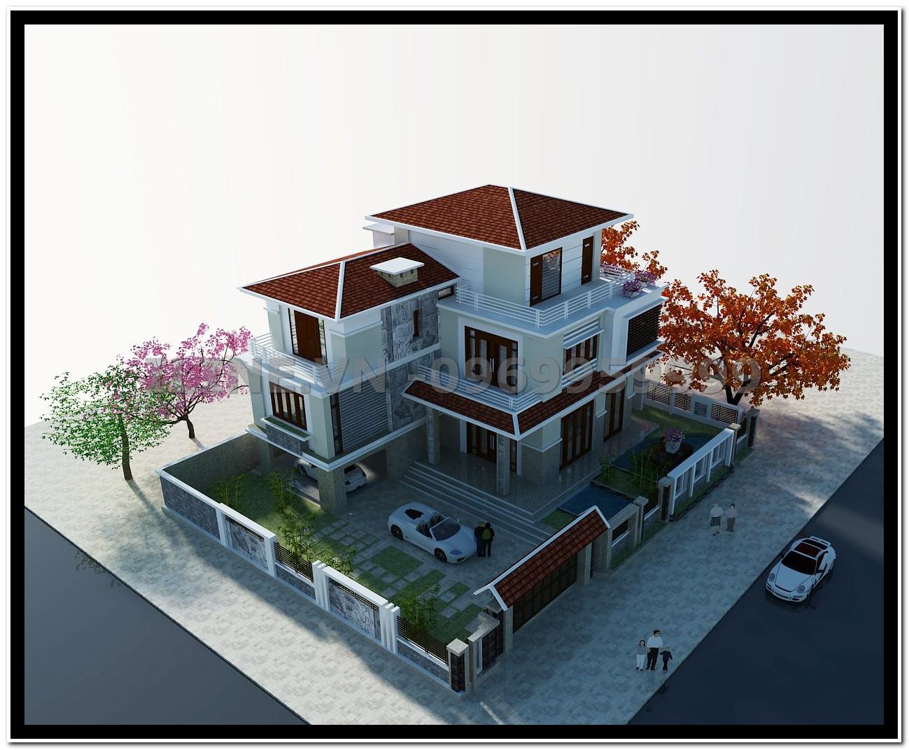 Biệt thự mái Nhật - Chú Vi - Hạ Long - 2012
