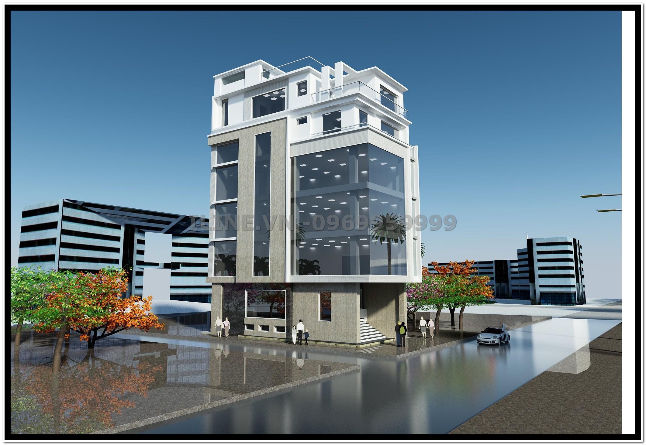 Tòa nhà văn phòng Xuân Tú - Cẩm Phả - 2013