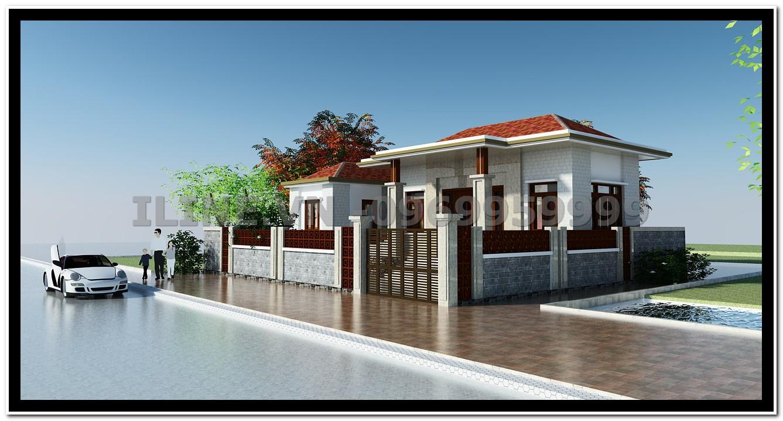Biệt thự 1 tầng - Anh Thịnh - Nam Định